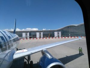 Latest construction on New Terminal West Aéroport d'Alger